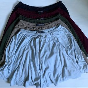 Brandy Melville A-Line Mini Skirts(various colors)